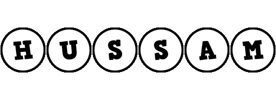 Hussam handy logo