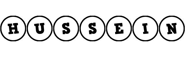 Hussein handy logo