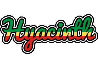 Hyacinth african logo