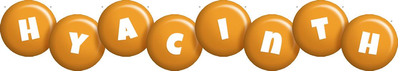 Hyacinth candy-orange logo