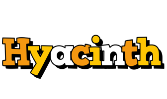 Hyacinth cartoon logo