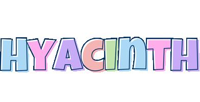 Hyacinth pastel logo