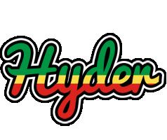 Hyder african logo