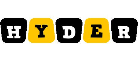 Hyder boots logo