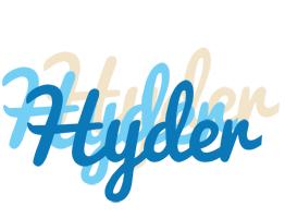 Hyder breeze logo