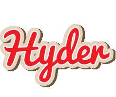 Hyder chocolate logo