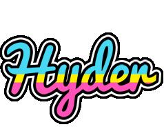 Hyder circus logo