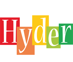 Hyder colors logo