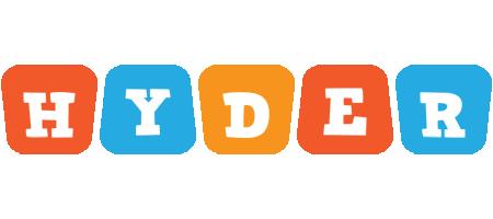 Hyder comics logo