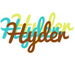 Hyder cupcake logo