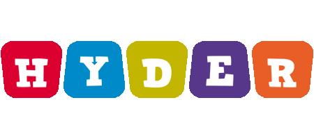 Hyder daycare logo