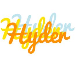 Hyder energy logo