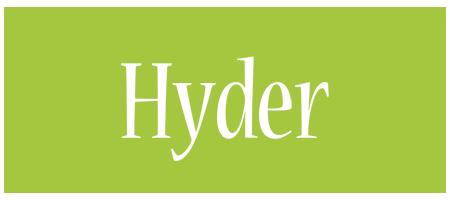 Hyder family logo