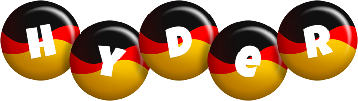 Hyder german logo