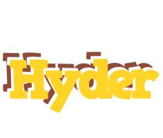 Hyder hotcup logo