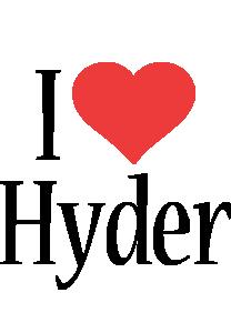 Hyder i-love logo