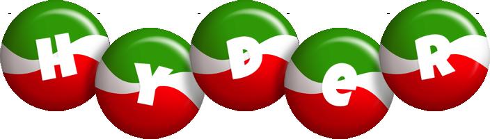 Hyder italy logo