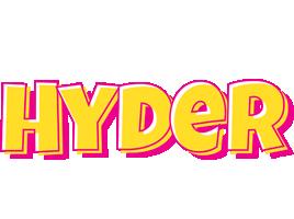 Hyder kaboom logo