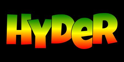 Hyder mango logo