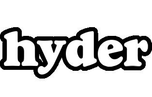 Hyder panda logo
