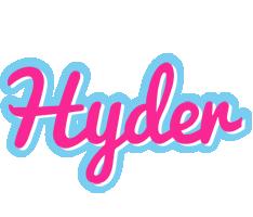 Hyder popstar logo