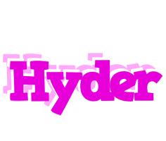 Hyder rumba logo