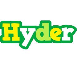 Hyder soccer logo