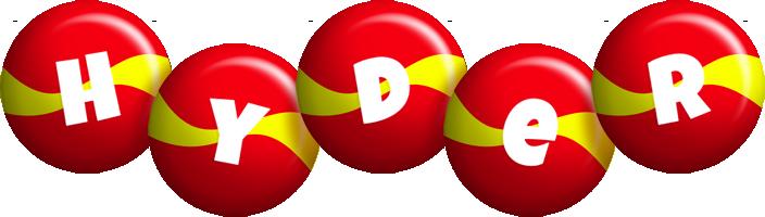 Hyder spain logo