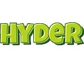 Hyder summer logo