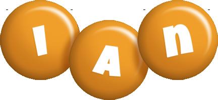 Ian candy-orange logo