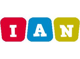 Ian daycare logo