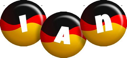 Ian german logo