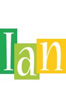 Ian lemonade logo