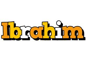 Ibrahim cartoon logo