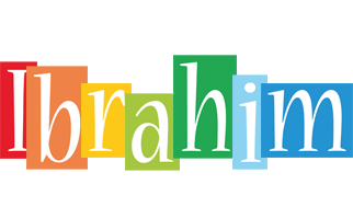 Ibrahim colors logo