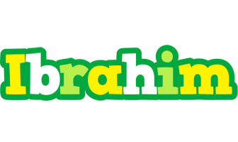 Ibrahim soccer logo
