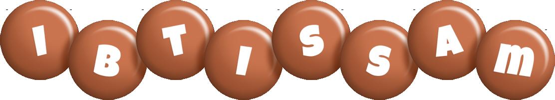 Ibtissam candy-brown logo