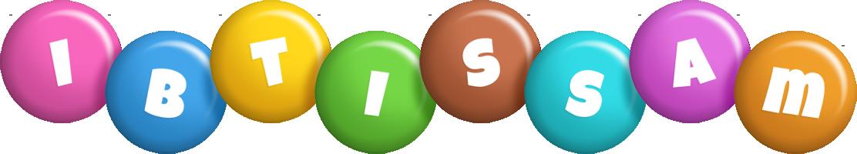 Ibtissam candy logo