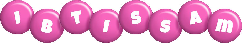 Ibtissam candy-pink logo