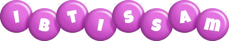 Ibtissam candy-purple logo