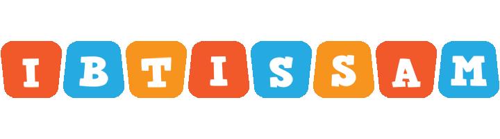 Ibtissam comics logo