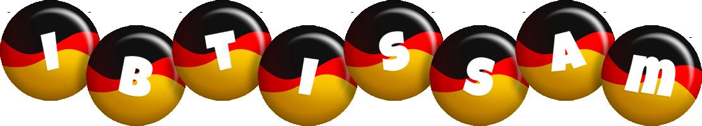 Ibtissam german logo