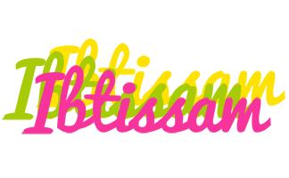 Ibtissam sweets logo