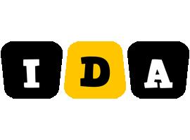 Ida boots logo