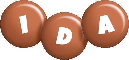 Ida candy-brown logo