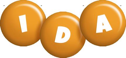Ida candy-orange logo