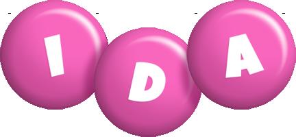 Ida candy-pink logo