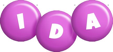 Ida candy-purple logo