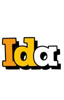 Ida cartoon logo