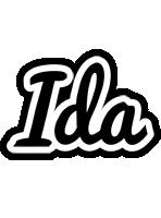 Ida chess logo